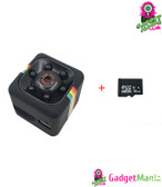 SQ11 Mini Camera Add 16GB Card Black