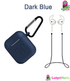 Cover Case Set for Apple AirPods - Navy blue