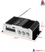 Car Amplifier Digital Audio Player Black