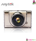 Anytek A100+ 1080P Car DVR - Gold
