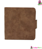 PU Leather Shockproof Protective Case Brown