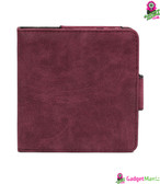 PU Leather Shockproof Protective Case RedWine