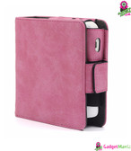 PU Leather Protective Case Frosted Pink