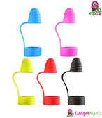 Silicone Vape Dust-proof Cap Cover Red