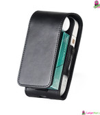 Electronic Cigarette PU Leather Case Black