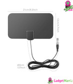 HDTV Antenna with 13ft Cable - Black