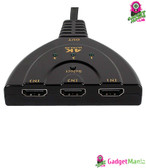 3 Port HDMI Switch Splitter Cable