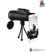40X60 BAK4 Monocular Telescope - Black