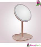 30LEDs Mirror Magnifier 5X Pink