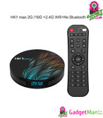 HK1 Max Smart TV Box - 2G + 16G, UK Plug