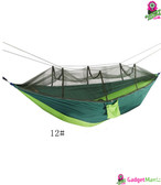 Portable Parachute Fabric Hammock 12#