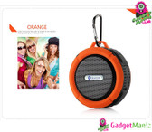 C6 Outdoor Wireless Bluetooth Speaker -Orange