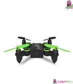 Folding Mini Drone - WiFi Real-time (Green)