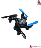Folding Mini Drone - WiFi Real-time (Blue)