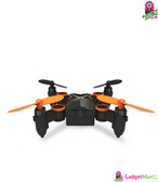 Folding Mini Drone - WiFi Real-time (Orange)