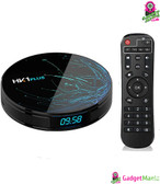 HK1 PLUS Android 16GB ROM WiFi TV Box UK Plug