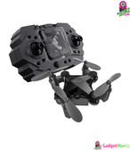 Folding Mini Drone Toy Black Fixed Height