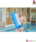 Outdoor Folding Water Hammock - Blue