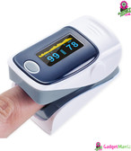 Digital Finger Oximeter Gray
