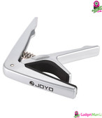 JOYO JCP-01 Capo with Guitar Pick Silver
