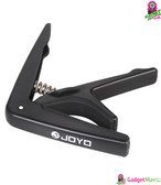 JOYO JCP-01 Capo with Guitar Pick Black