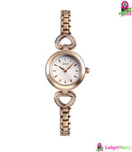SKMEI 1408 Luxury Women Watch Rose gold