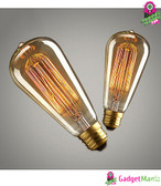 40W E27 220-240V Edison Light Bulb