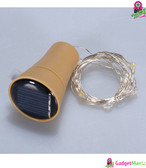 10LED Solar Powered String Light - Warm White