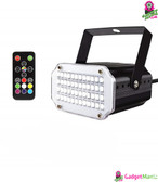 48LEDs 7Colors Strobe Light US Plug
