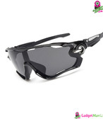 Outdoor Cycling Sunglasses Bright black frame