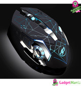 Warwolf Q8 Wireless Rechargeable Mouse Black