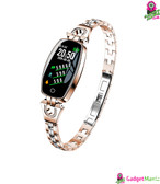 H8 Women Exquisite Fitness Smart Watch Gold