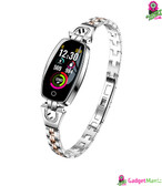 H8 Women Exquisite Fitness Smart Watch Silver