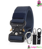 Men Tactical Belt Royal Blue