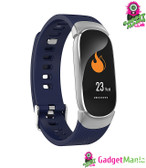 QW16 Bluetooth Sports Smart Watch - Blue