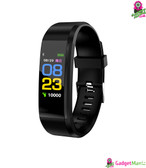 115 Plus Color Screen Smart Watch Black
