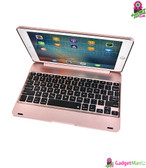 iPad Air1Air2Pro Bluetooth Keyboard Rosegold