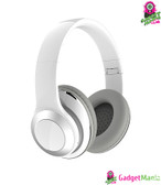 Over Ear Stereo Bluetooth Headphones - White