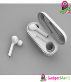 TWS JS18 Bluetooth 5.0 Earphone - White
