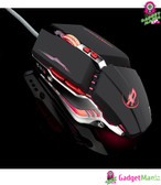 Warwolf T9 Gaming Mouse - Black