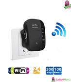 300Mbps WiFi Signal Amplifier - UK Plug