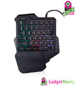 G30 One-handed Keypad - Mixed color version