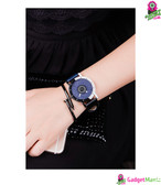 Men Women Watch Navy Blue