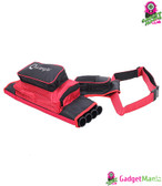 4 Tube Waist Carrying Quiver Bag - Red