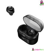 TWS Bluetooth Earphone Headset Black