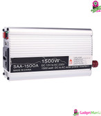 1500W Portable Car Inverter Charger White
