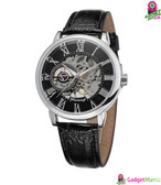 Men Fashion Watch - Black Shell Black Surface