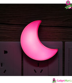 LED Sleeping Night Light - US Plug (Pink)