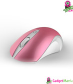Silent Wireless Mouse Glossy Pink