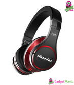Bluedio UFO 3D Sound Headphones Black red